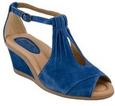 Women's Earth 'Caper' T-Strap Wedge Sandal