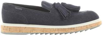 Louis Vuitton Navy Cloth Trainers