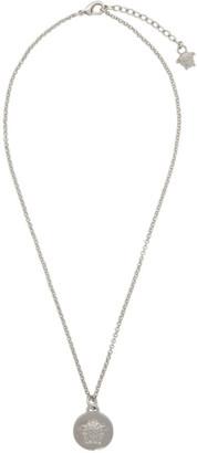 Versace Silver Medusa Pendant Necklace