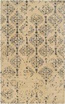 Surya BAN3315 Banshee Contemporary Hand Tufted 100% New Zealand Wool Blue Rug (9-Feet x 13-Feet )