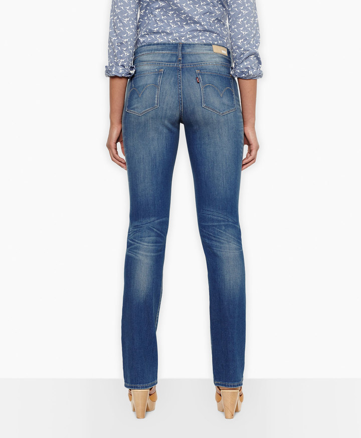 Levi's Modern Rise Demi Curve Straight Jeans