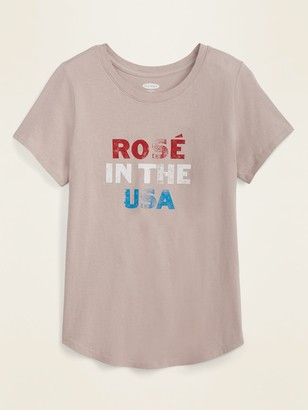 Old Navy EveryWear Americana Graphic Tee for Women