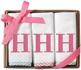 Mud Pie Initial Wash Cloth for Girl, H by