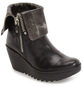 Fly London 'Yex' Platform Wedge Bootie