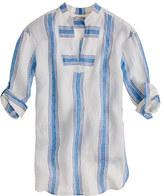 J.Crew Stripe linen tunic
