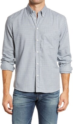 Billy Reid Tuscumbia Check Button-Down Shirt