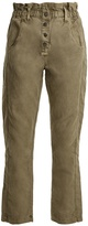 Current/Elliott The Paperbag relaxed-leg trousers