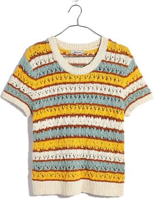 Madewell Carrington Short Sleeve Sweater