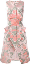 Christopher Kane jacquard velcro midi dress
