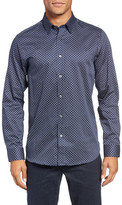 Ted Baker Lenons Trim Fit Print Sport Shirt