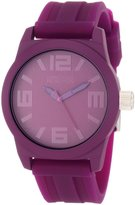 Kenneth Cole Reaction Women's Reaction RK2226 Silicone Quartz Watch with Dial