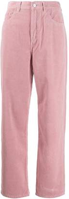 Carhartt WIP high-waisted textured trousers