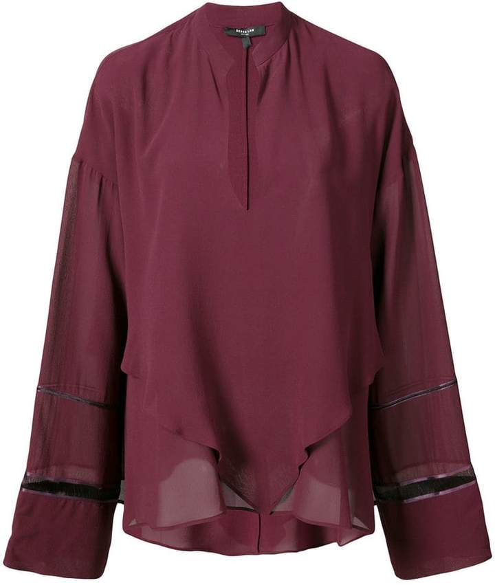 Derek Lam V-neck blouse