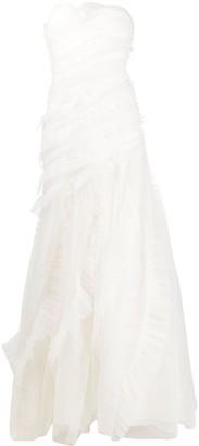 Alberta Ferretti strapless Ava gown