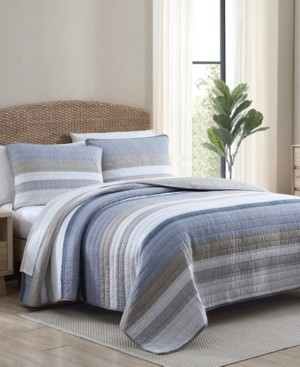 Nautica Galewood 3-Piece Quilt Set, Full/Queen Bedding