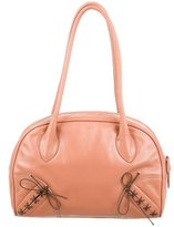 Alaia Embellished Leather Shoulder Bag