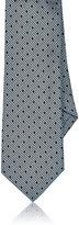 Barneys New York Men's Dotted Silk Jacquard Necktie