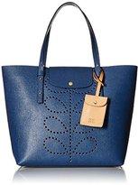Orla Kiely Textured Leather Tillie Top-Handle Bag