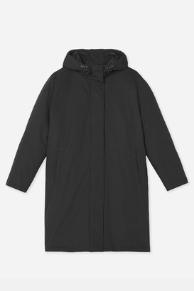 Hutspot - Charcoal Womens Parka - Size L | polyester | charcoal - Charcoal