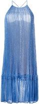 Stella McCartney star print tiered dress - women - Silk/Polyester - 38