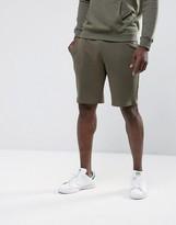 New Look Jersey Shorts In Khaki