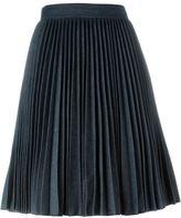 MSGM high waist pleated skirt