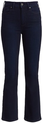 Paige Claudine High-Rise Ankle Flare Jeans