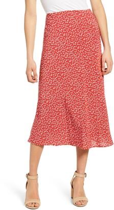 Rails Anya Print Midi Skirt