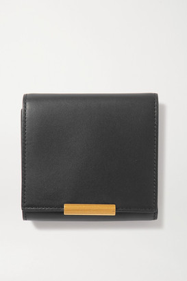 Bottega Veneta Embellished Leather Wallet - Black