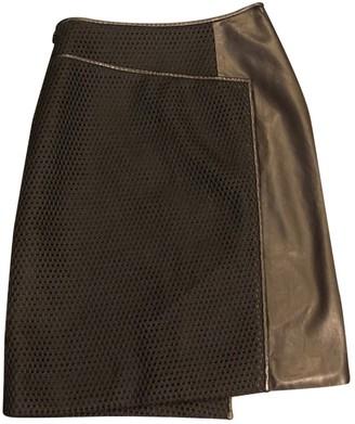 Reed Krakoff Black Leather Skirt for Women