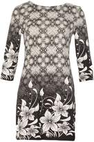 Izabel London Blossom Fitted Dress