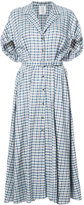 Rosie Assoulin plaid collared dress