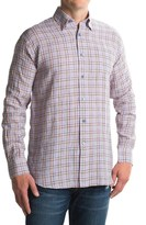 Robert Talbott Anderson II Plaid Sport Shirt - Linen, Long Sleeve (For Men)