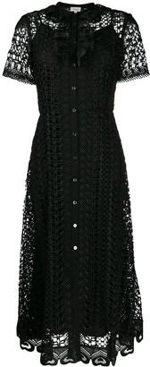 Temperley London Sunbird shirt dress