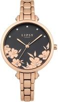 Lipsy Bracelet Floral Face Watch