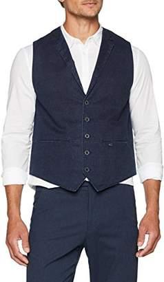 Camel Active Men's 451825/8514 Waistcoat, (Blue 41)
