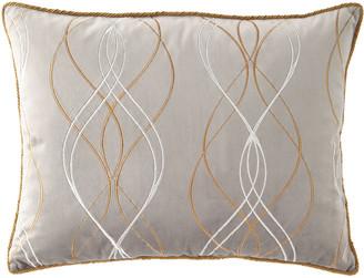 Dian Austin Couture Home Rialto Velvet Embroidered Standard Sham