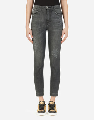Dolce & Gabbana Audrey-Fit Jeans In Stretch Denim