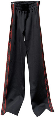 Misbhv Black Synthetic Trousers