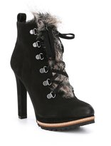 Gianni Bini Tondriatwo Faux Fur Hiker Booties
