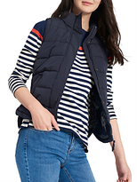 Joules Eastleigh Padded Gilet, Marine Navy