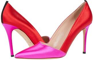 Sarah Jessica Parker Rampling (Candy Satin/Mouette Satin) Women's Shoes