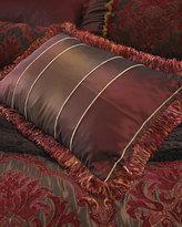 "Isabella Collection Striped Boudoir Pillow, 14"" x 20"""