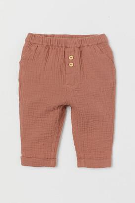 H&M Cotton Pants - Orange