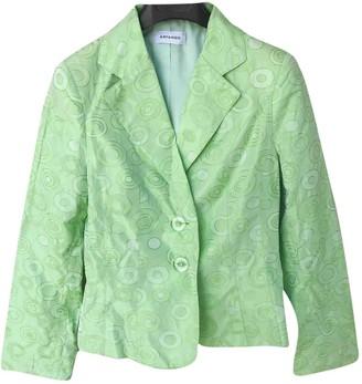 Arfango Green Jacket for Women Vintage