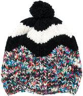 Missoni pom pom hat - women - Nylon/Cashmere/Wool - One Size