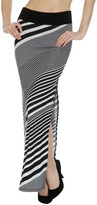 Arden B Gradual Stripe Maxi Skirt