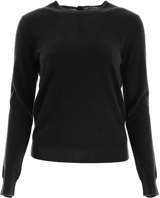 Tory Burch Buttoned Cashmere Pull