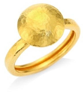 Gurhan 24K Gold Dome Ring