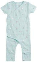 Aden Anais aden + anais - Short Sleeve Kimono One-Piece Boy's Jumpsuit & Rompers One Piece
